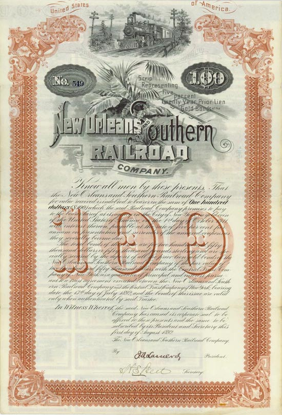 New Orleans and Southern Railroad Company