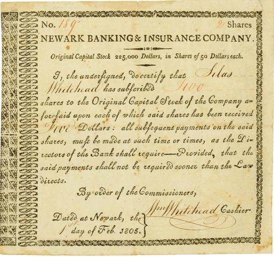 Newark Banking & Insurance Company