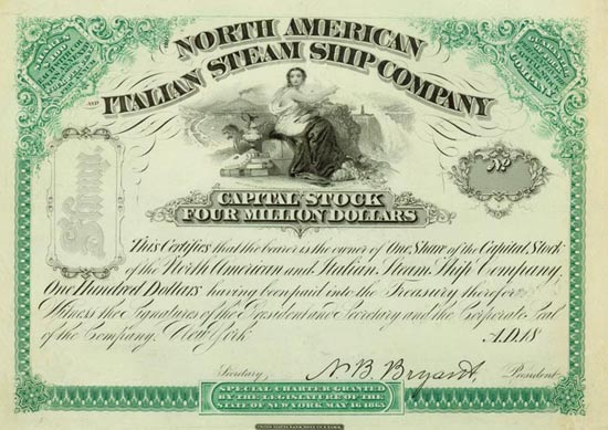 North American Italian Steam Ship Company