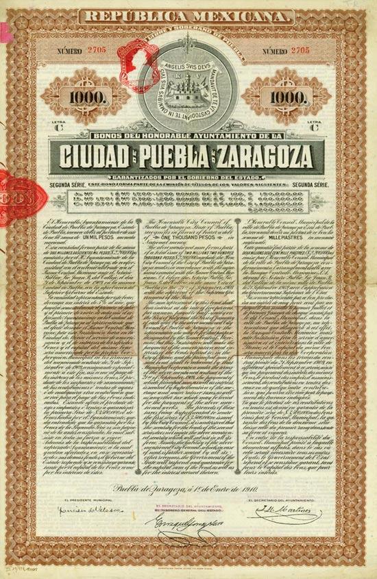 Republica Mexicana - Pueba de Zaragoza