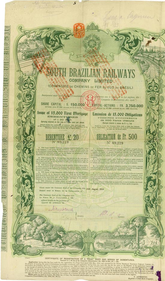 South Brazilian Railways Company Limited