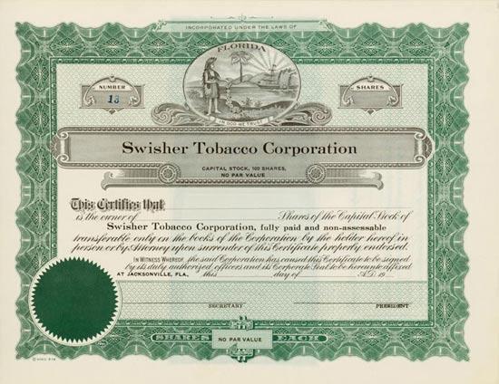 Swisher Tobacco Corporation