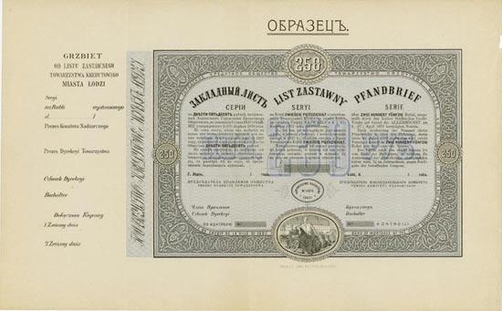 Lodzer Städtischer Credit-Verein