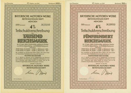 Bayerische Motoren Werke AG [2 Stück]