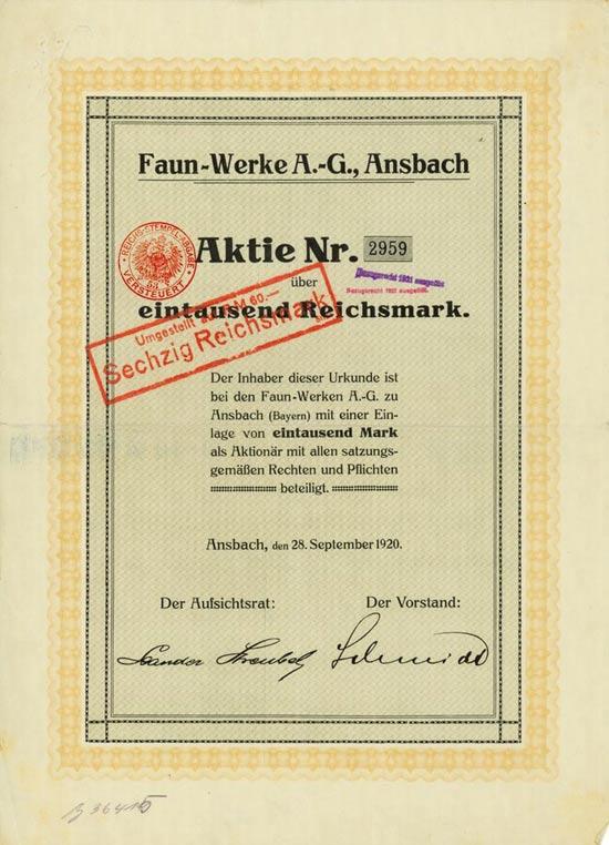 Faun-Werke AG