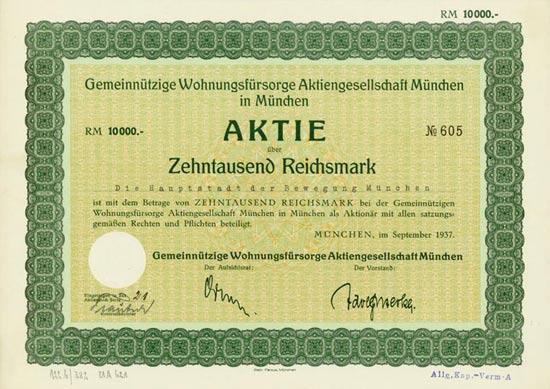 Gemeinnützige Wohnungsfürsorge AG