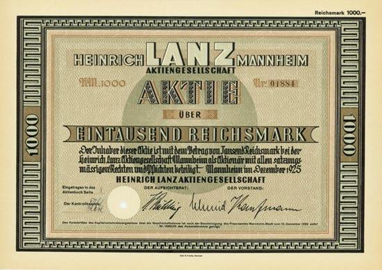 Heinrich Lanz AG