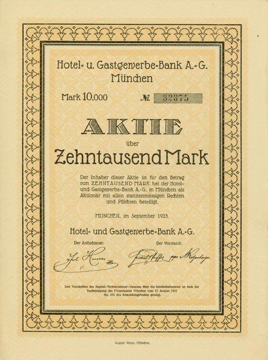 Hotel- und Gastgewerbe-Bank AG
