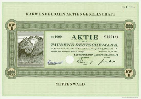 Karwendelbahn AG