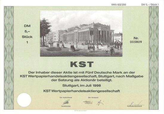 KST Wertpapierhandels-AG