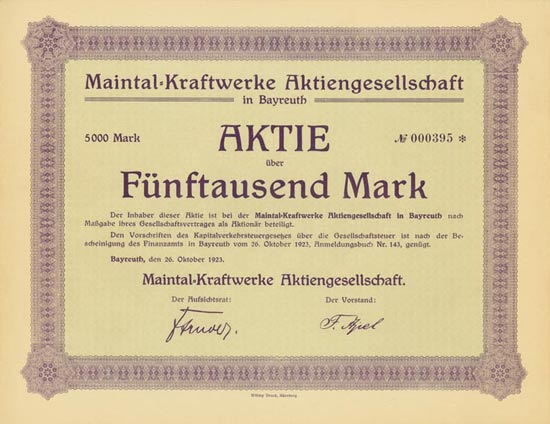 Maintal-Kraftwerke AG