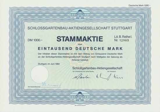 Schlossgartenbau-AG