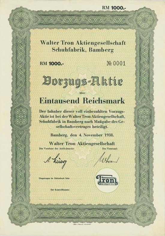 Walter Tron AG Schuhfabrik