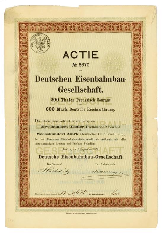 Deutsche Eisenbahnbau-Gesellschaft