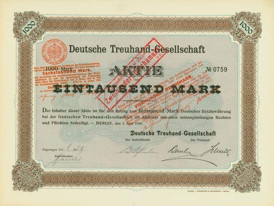 Deutsche Treuhand-Gesellschaft