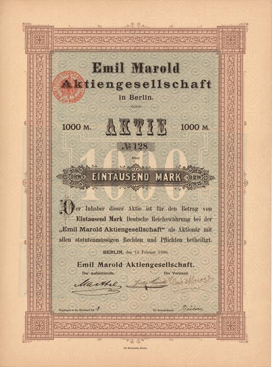 Emil Marold AG