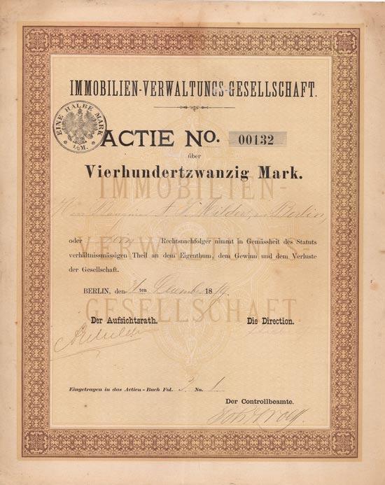 Immobilien-Verwaltungs-Gesellschaft