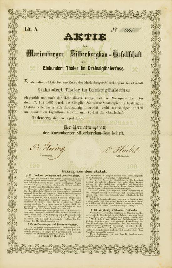 Marienberger Silberbergbau-Gesellschaft