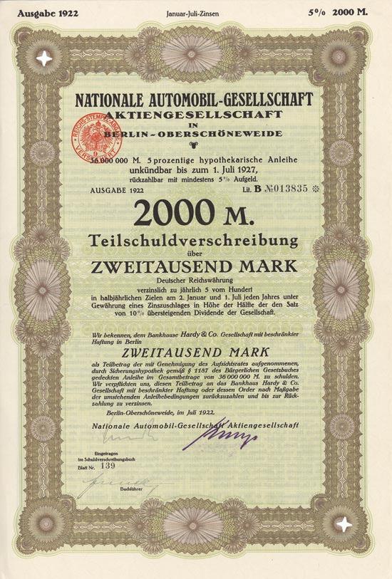 Nationale Automobil-Gesellschaft AG
