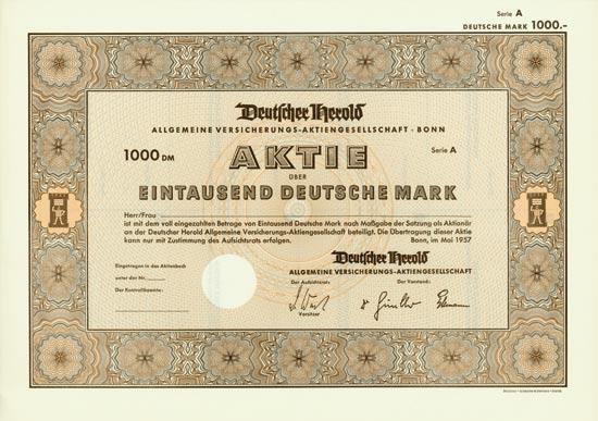 Deutscher Herold Allgemeine Versicherungs-AG
