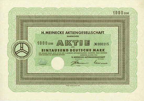 H. Meinecke AG