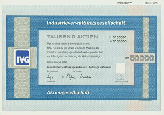 Industrieverwaltungsgesellschaft AG