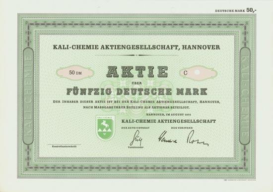 Kali-Chemie AG