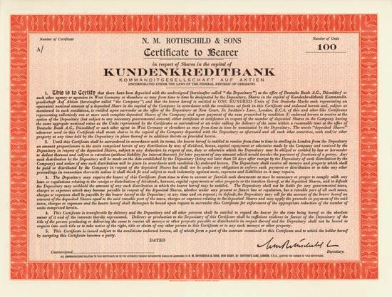 Kundenkreditbank KGaA