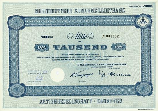 Norddeutsche Kundenkreditbank AG