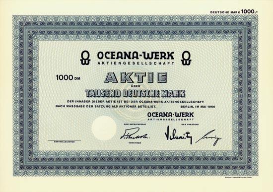 Oceana-Werk AG