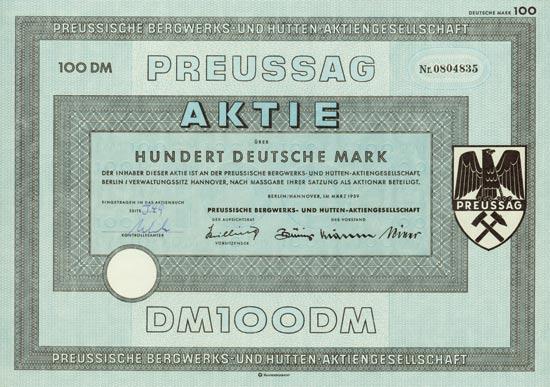 Preussische Bergwerks- und Hütten-AG