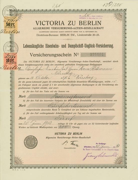 Victoria zu Berlin Allgemeine Versicherungs-AG
