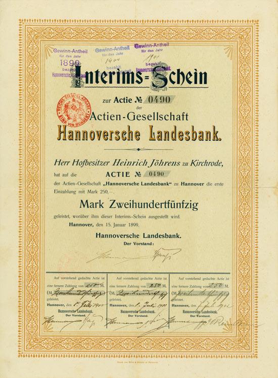 Actien-Gesellschaft Hannoversche Landesbank