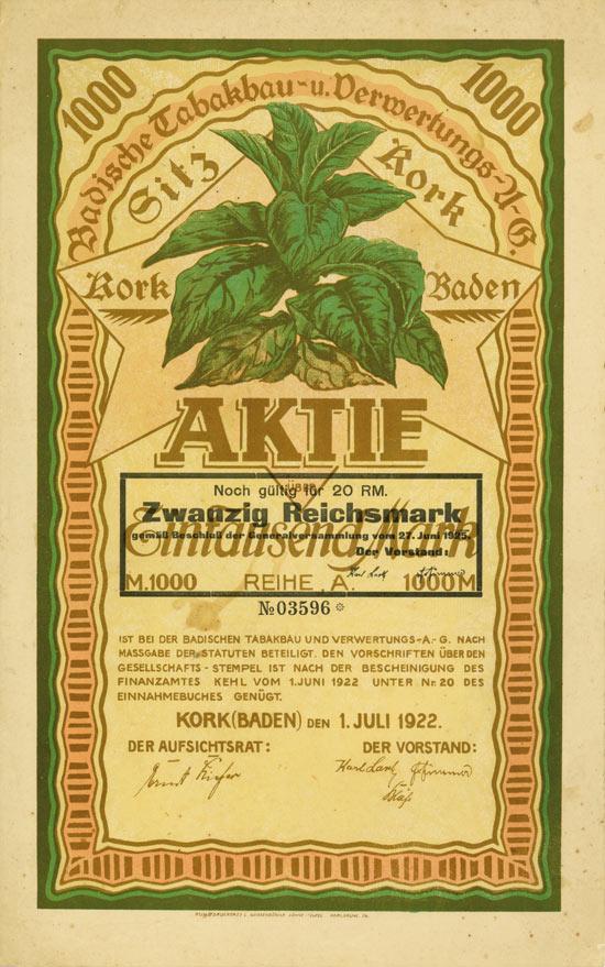 Badische Tabakbau- und Verwertungs A.G.