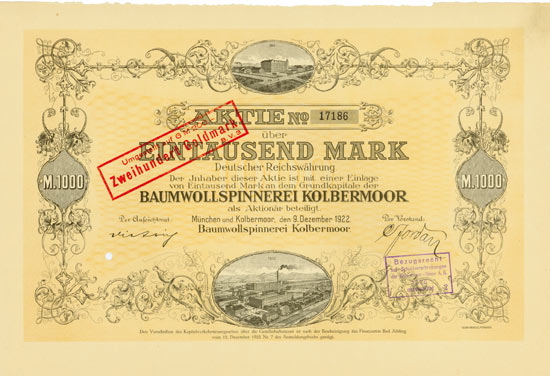 Baumwollspinnerei Kolbermoor