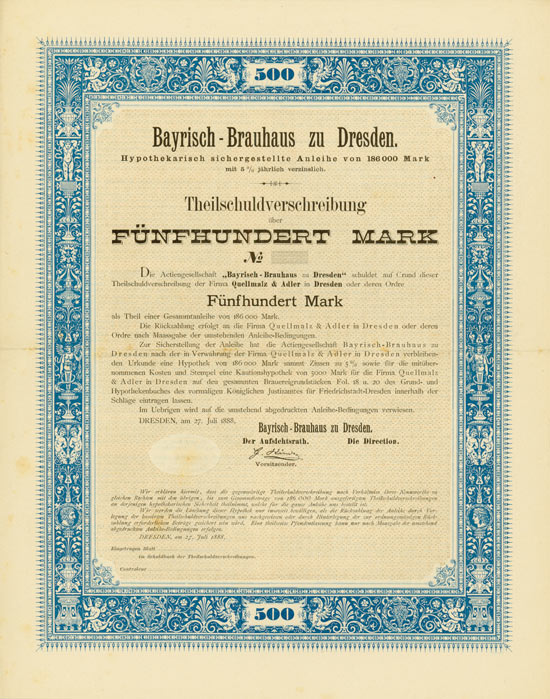 Bayrisch-Brauhaus zu Dresden