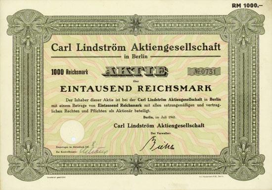 Carl Lindström AG