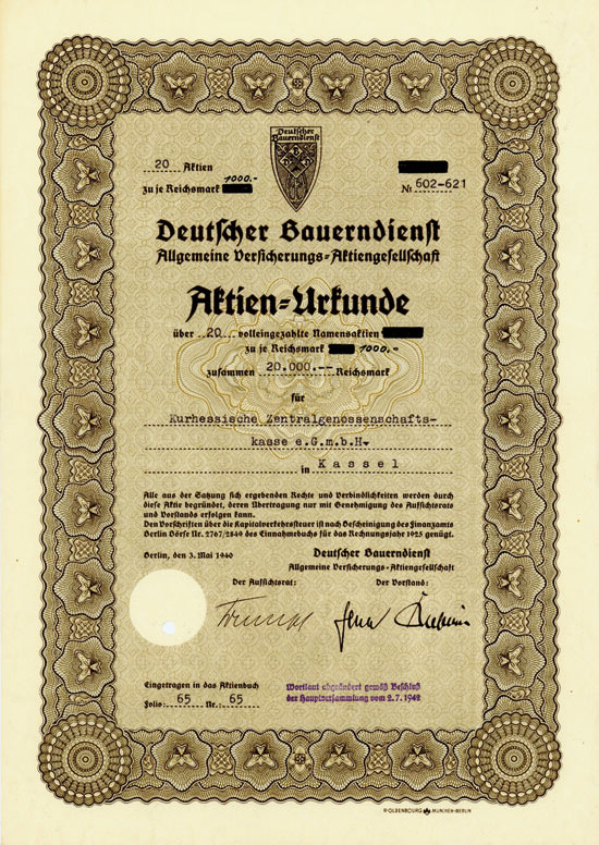 Deutscher Bauerndienst Allgemeine Versicherungs-AG