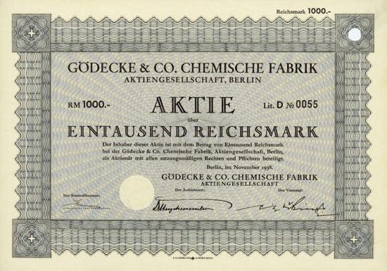 Gödecke & Co. Chemische Fabrik AG