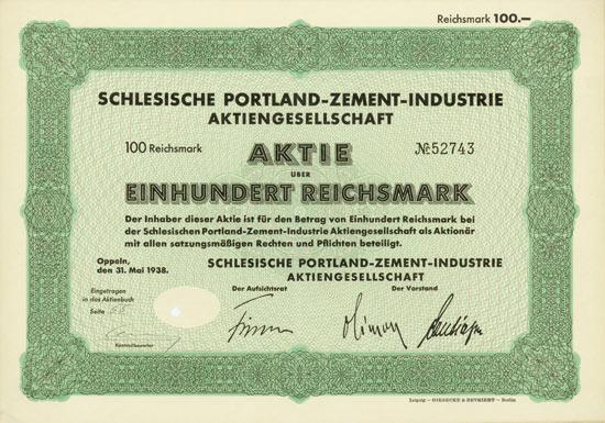 Schlesische Portland-Zement-Industrie AG