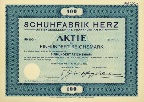 Schuhfabrik Herz AG