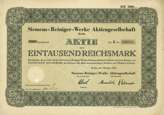 Siemens-Reiniger-Werke AG