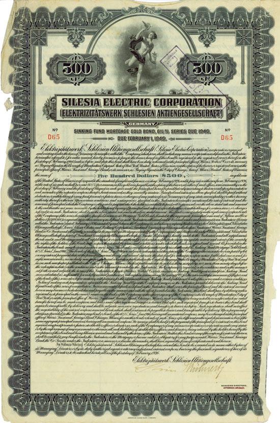 Silesia Electric Corporation (Elektrizitätswerk Schlesien AG)