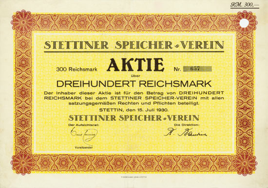 Stettiner Speicher-Verein