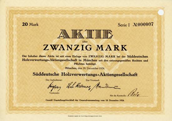 Süddeutsche Holzverwertungs-AG