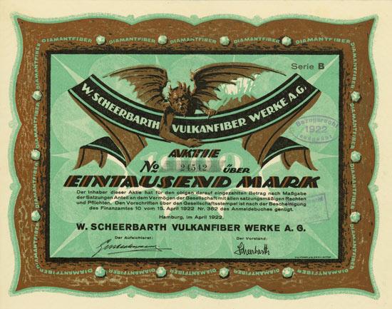 W. Scheerbarth Vulkanfiber Werke AG