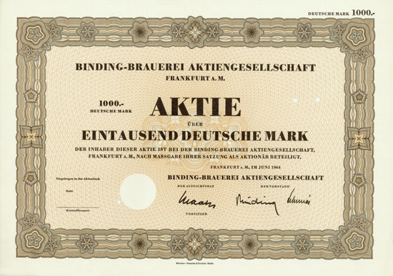 Binding-Brauerei AG