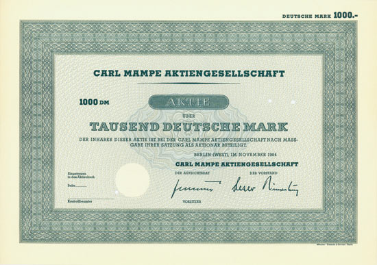Carl Mampe AG