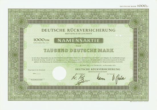 Deutsche Rückversicherungs AG