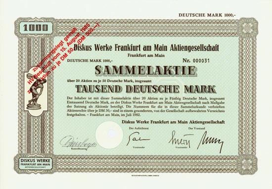 Diskus Werke Frankfurt am Main AG